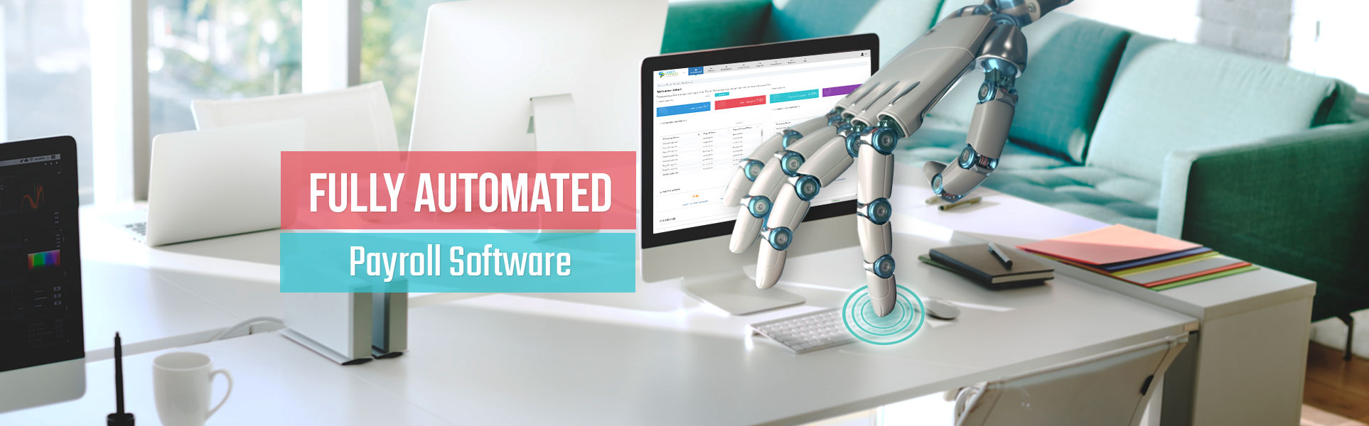 Fully automated payroll software